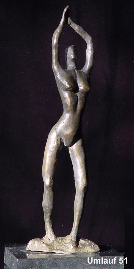 51 Lone Dancer bronze