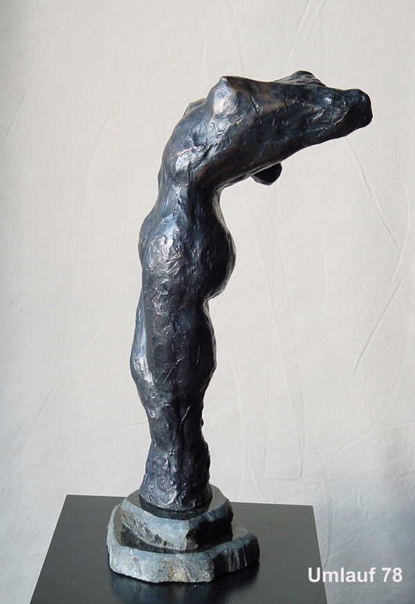 78 Dancer Bending Back# 2 side bronze  copy