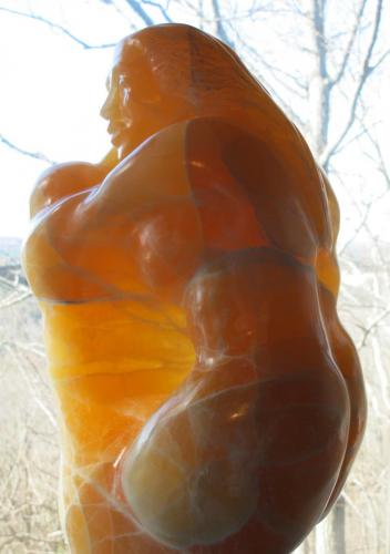 Mother & Child(1) - Honeycomb calcite (#265)